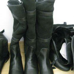 Tashkent Dan shearling boots
