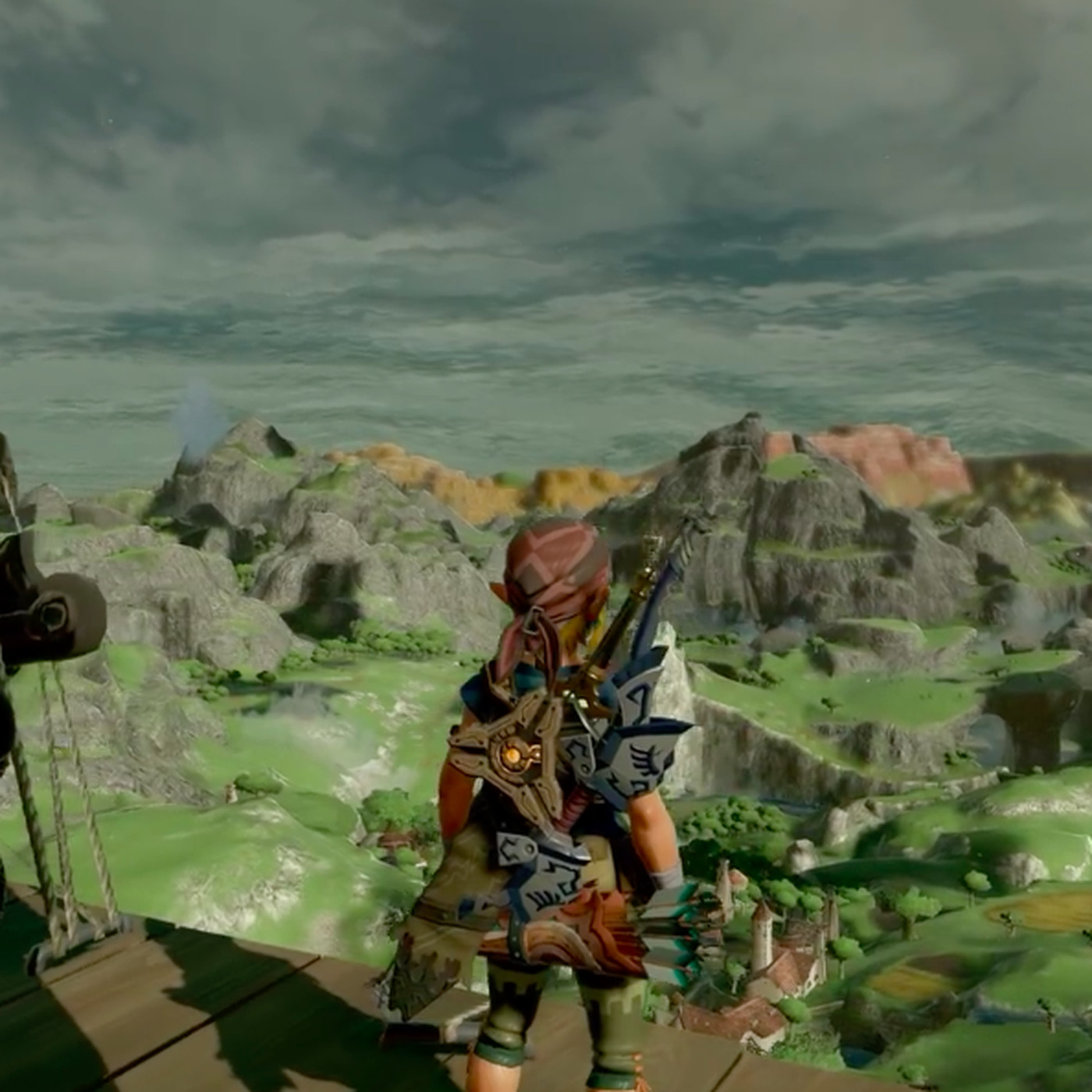 Here's what Zelda: Breath of the Wild looks like without cel