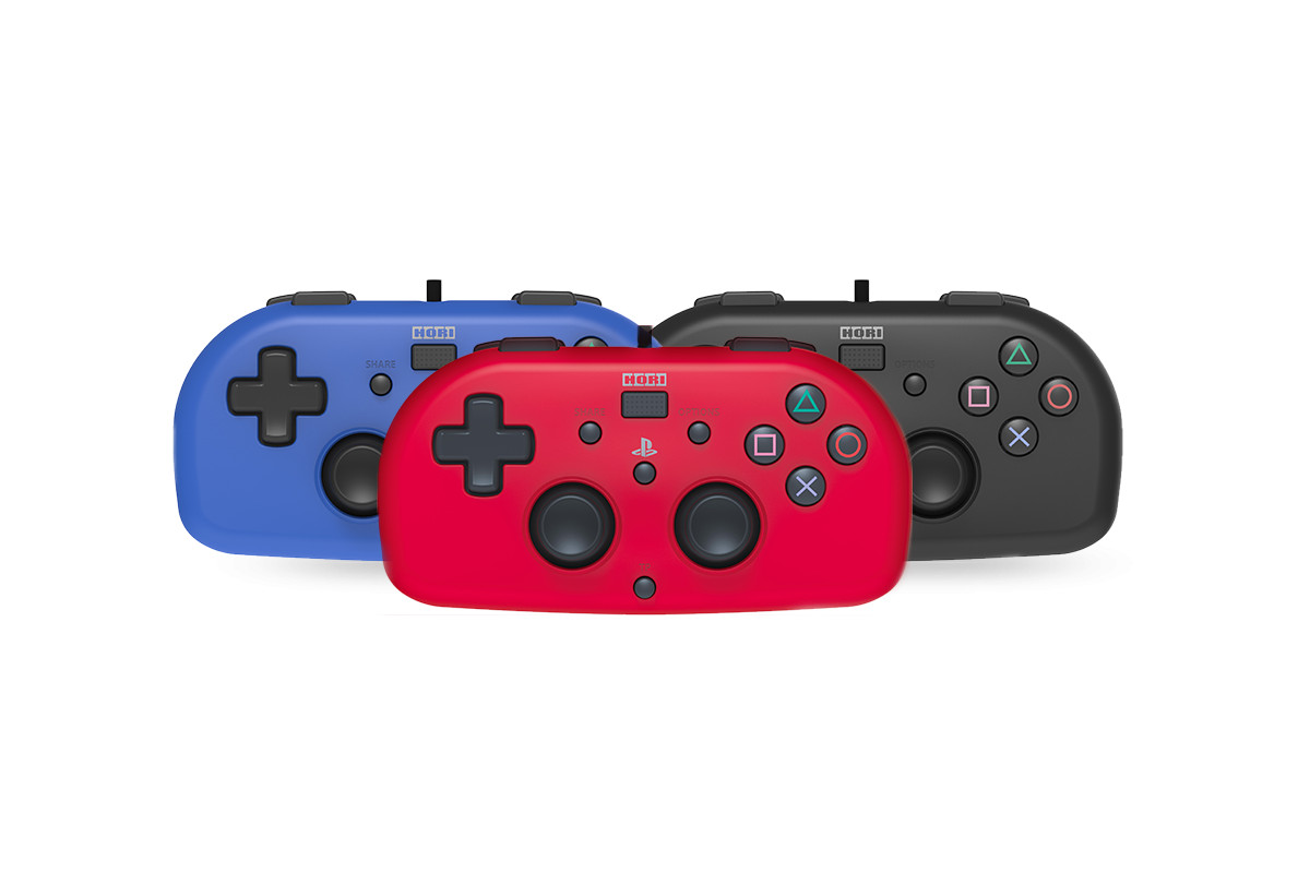Hori's cute PS4 controller looks like a relative of the Joy-Con