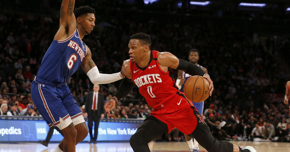 Report: Knicks could be interested in Russell Westbrook trade if available - The Dream Shake