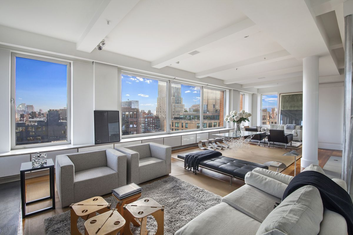 Architect Lee Mindel S Chelsea Penthouse Slashes Price To