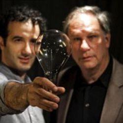 Jad Abumrad, left, and Robert Krulwich host 'Radiolab,' a popular NPR science program.