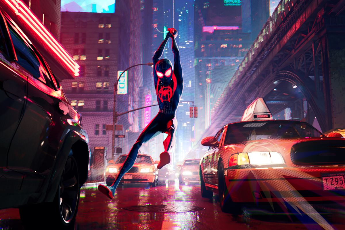 Spider Man Into The Spider Verse Is Dazzling Hilarious And Unique