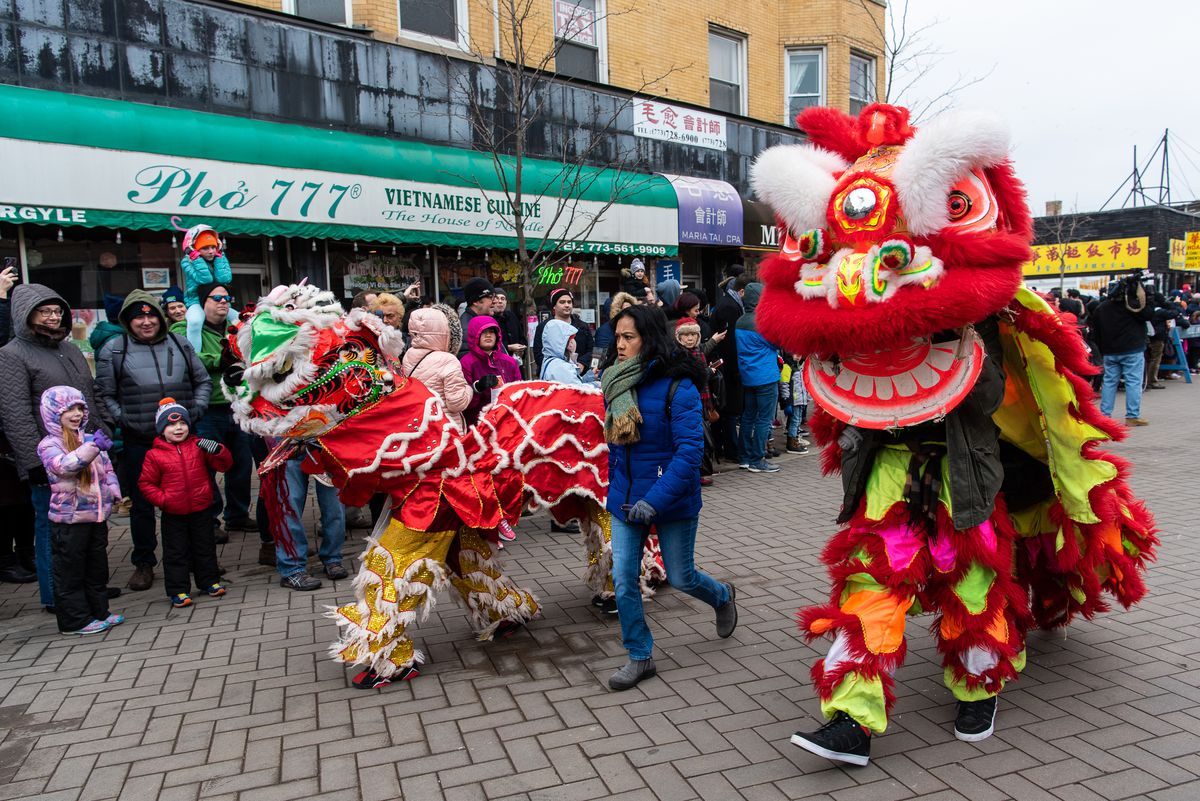 A few hundred people came out to the Argyle Lunar New Year Parade on Saturday in Uptown.