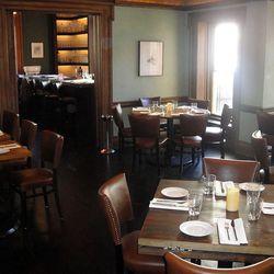 Dining room of Rittenhouse Tavern