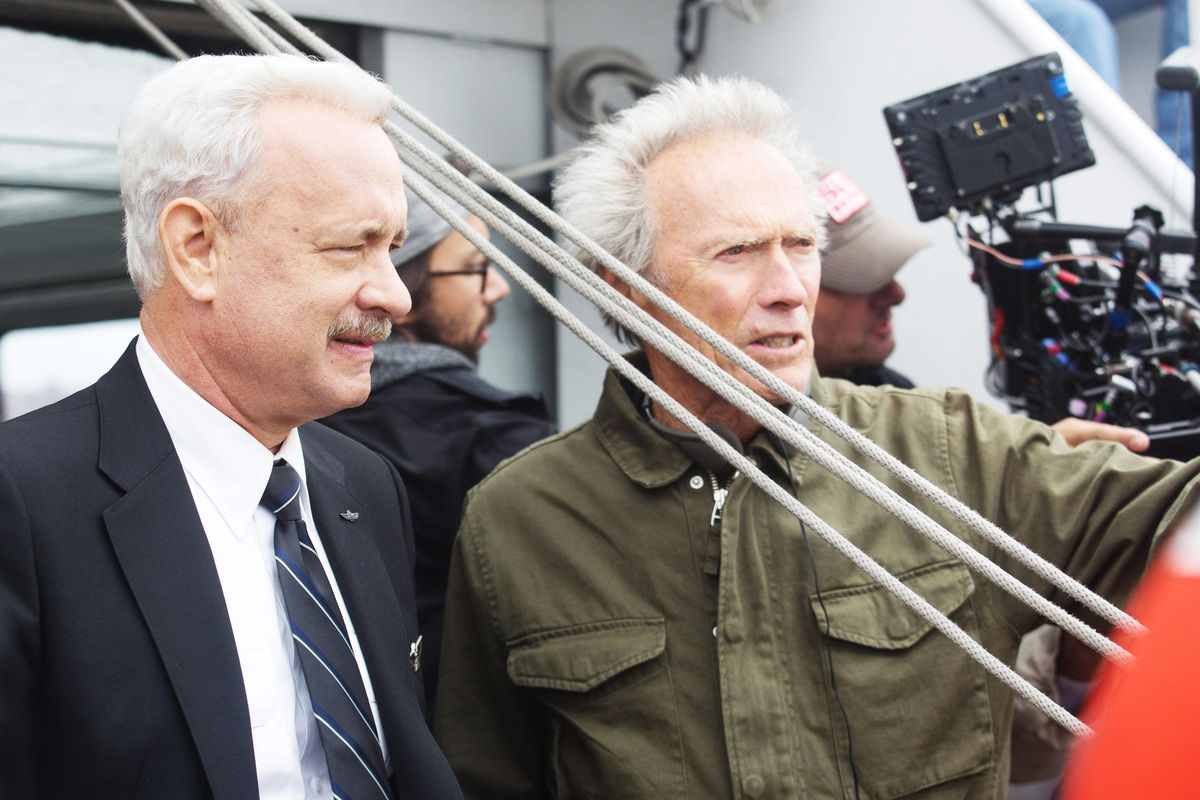 0ff95869bd014 Clint Eastwood directs Tom Hanks as Chelsey Sullenberger
