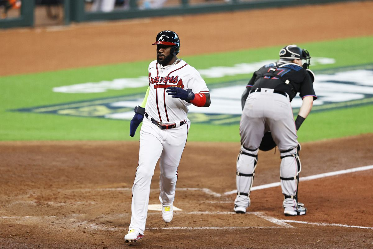 Division Series - Miami Marlins v Atlanta Braves - Game One