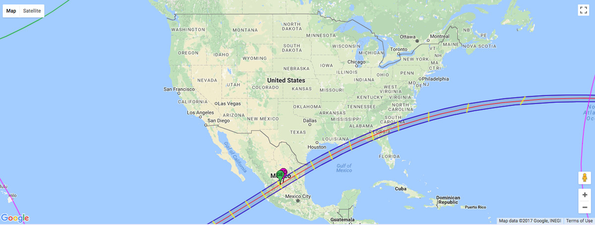 Vox Eclipse Map.Did You Miss Yesterday S Total Solar Eclipse Here S Your Next