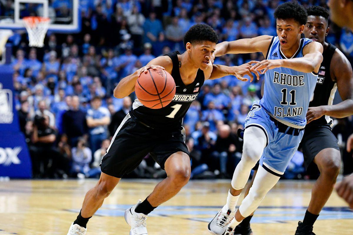 NCAA Basketball: Providence at Rhode Island