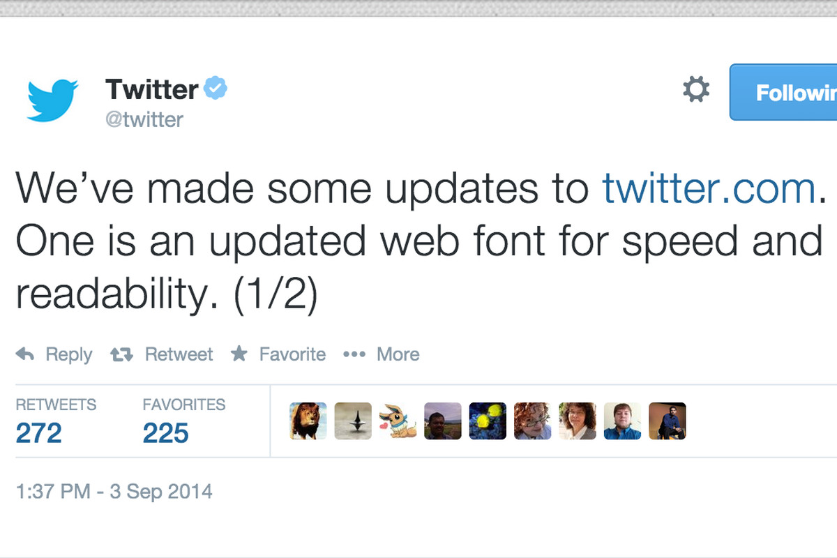 Twitter changes font again because everyone hated the old one - The