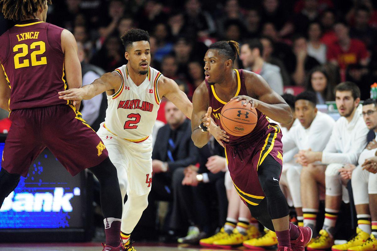 NCAA Basketball: Minnesota at Maryland