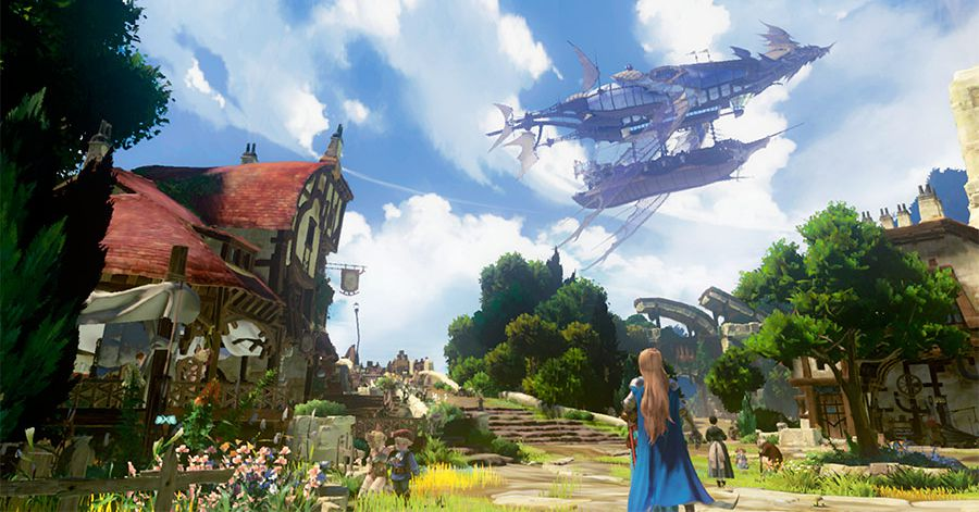 Watch new footage of Platinum's Granblue Fantasy action-RPG