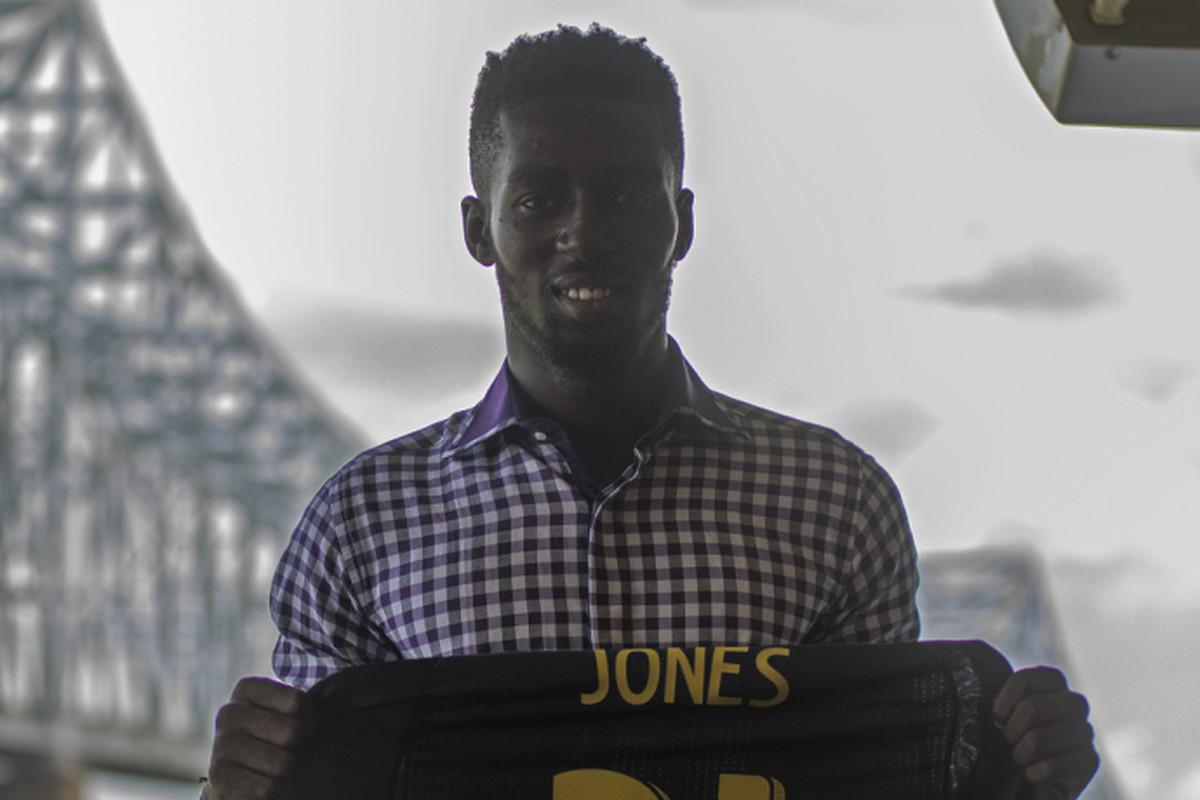 Newest Philadelphia Union signing Derrick Jones will wear number 21.
