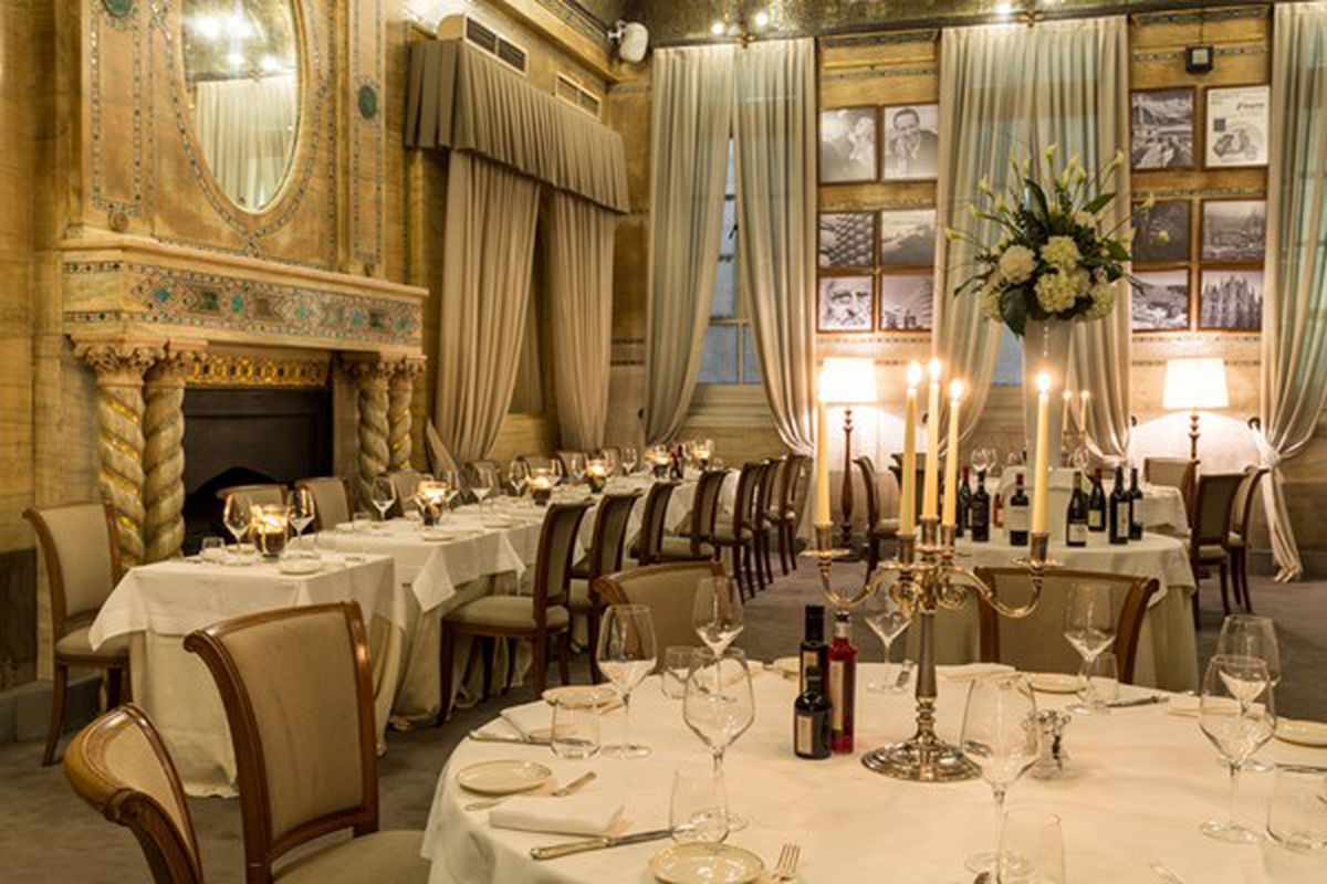 Criterion's dining room, on Piccadilly Circus