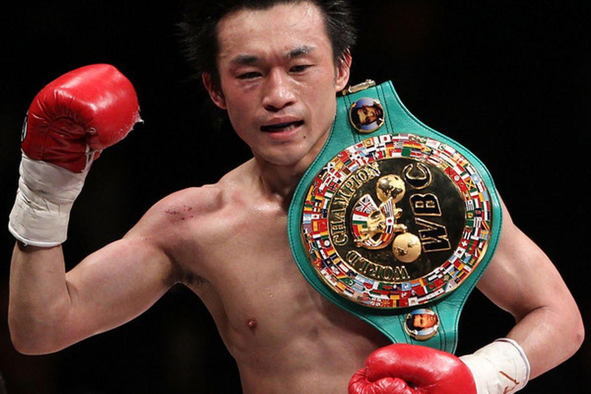 Toshiaki Nishioka is coming to America to face Rafael Marquez on October 1. (Photo by Koichi Kamoshida/Getty Images)