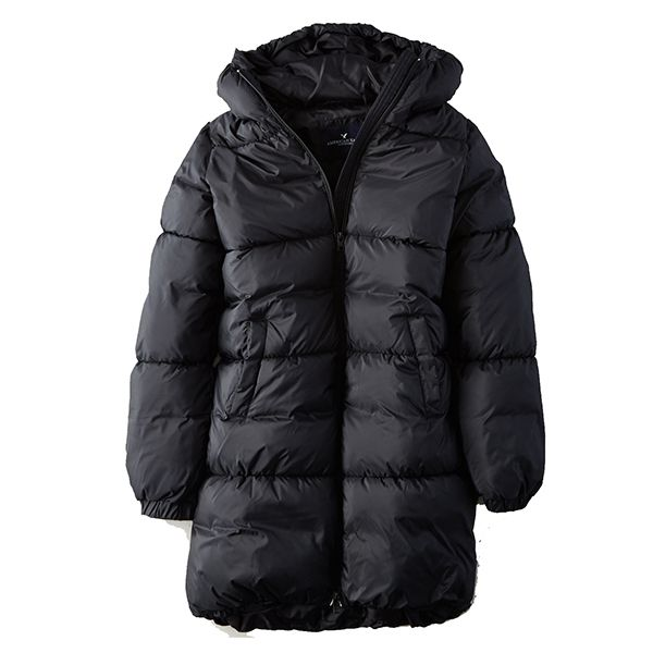American Eagle Hooded Puffer Coat