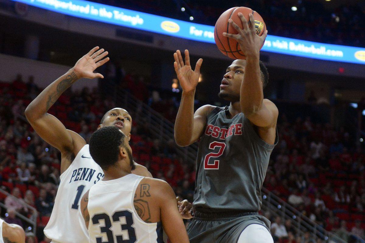NCAA Basketball: Penn State at North Carolina State
