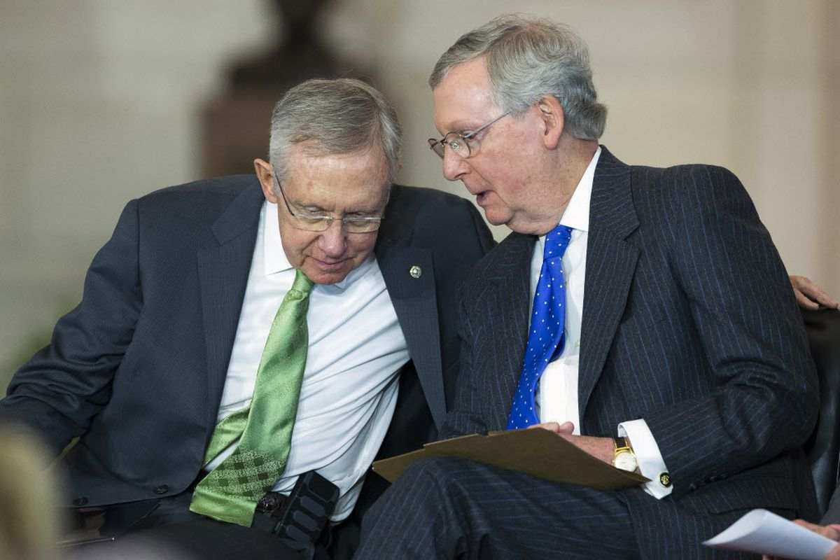 Mcconnell Asks Obama To Work With Gop Reid Says Democrats Won T Be Rolling Over Chicago Chicago Sun Times