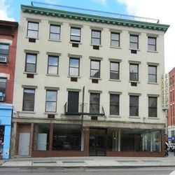 """The former light shop at the corner of Bowery and Broome, via <a href=""""http://www.thelodownny.com/leslog/tag/146-bowery"""">The Lo Down</a>."""