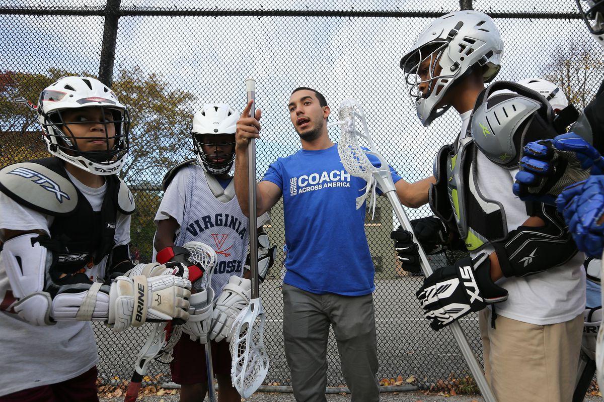 Laureus Harlem Lacrosse Project Visit
