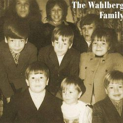 There's actually nine Wahlberg kids in the family.