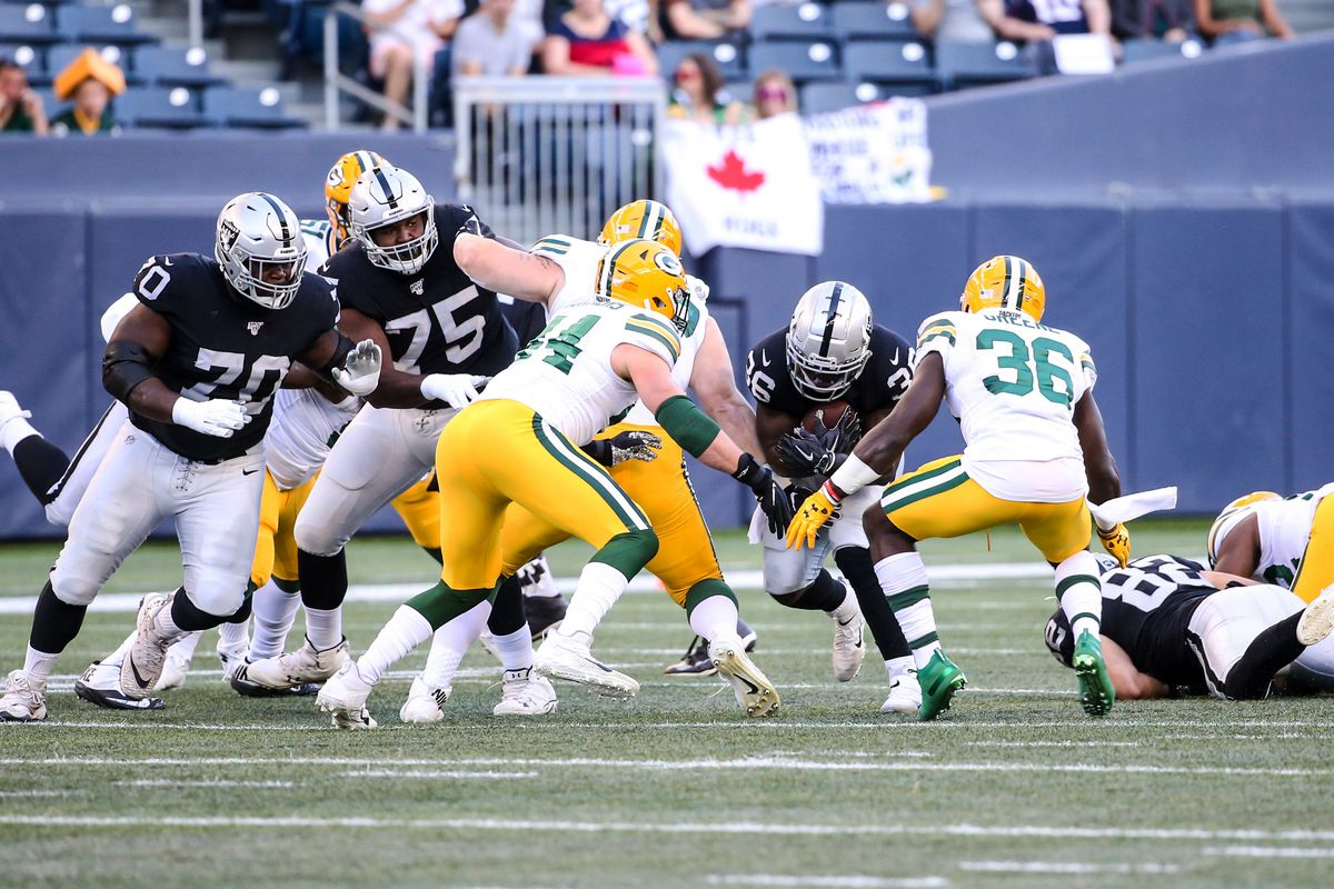 If the Raiders are to beat the Packers, this stat shows how they will go about doing it