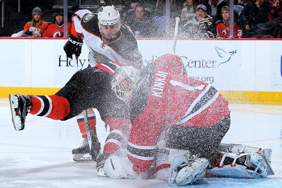 Let's hope tonight's game goes better - and smarter - than the last Devils-Ducks game.
