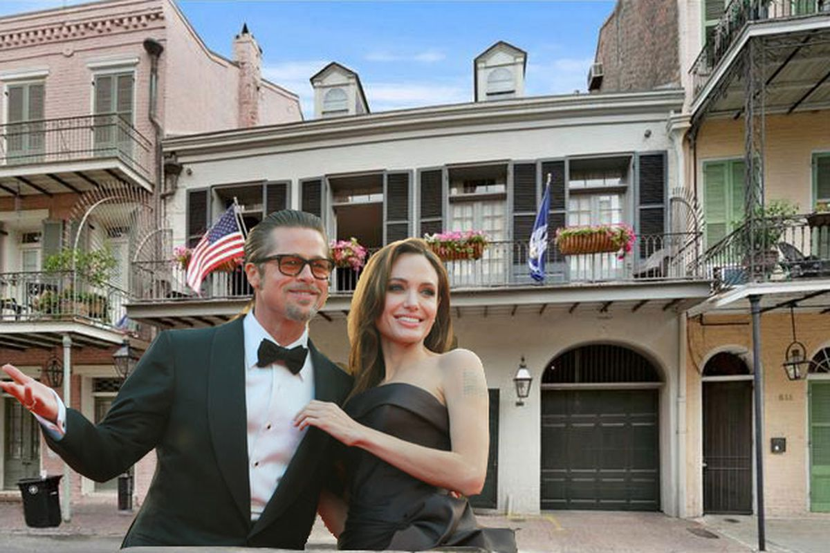 there 39 s now more photos of brangelina 39 s french quarter house but still no interiors curbed. Black Bedroom Furniture Sets. Home Design Ideas