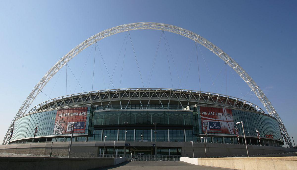 Celebrity Football At The New Wembley Stadium