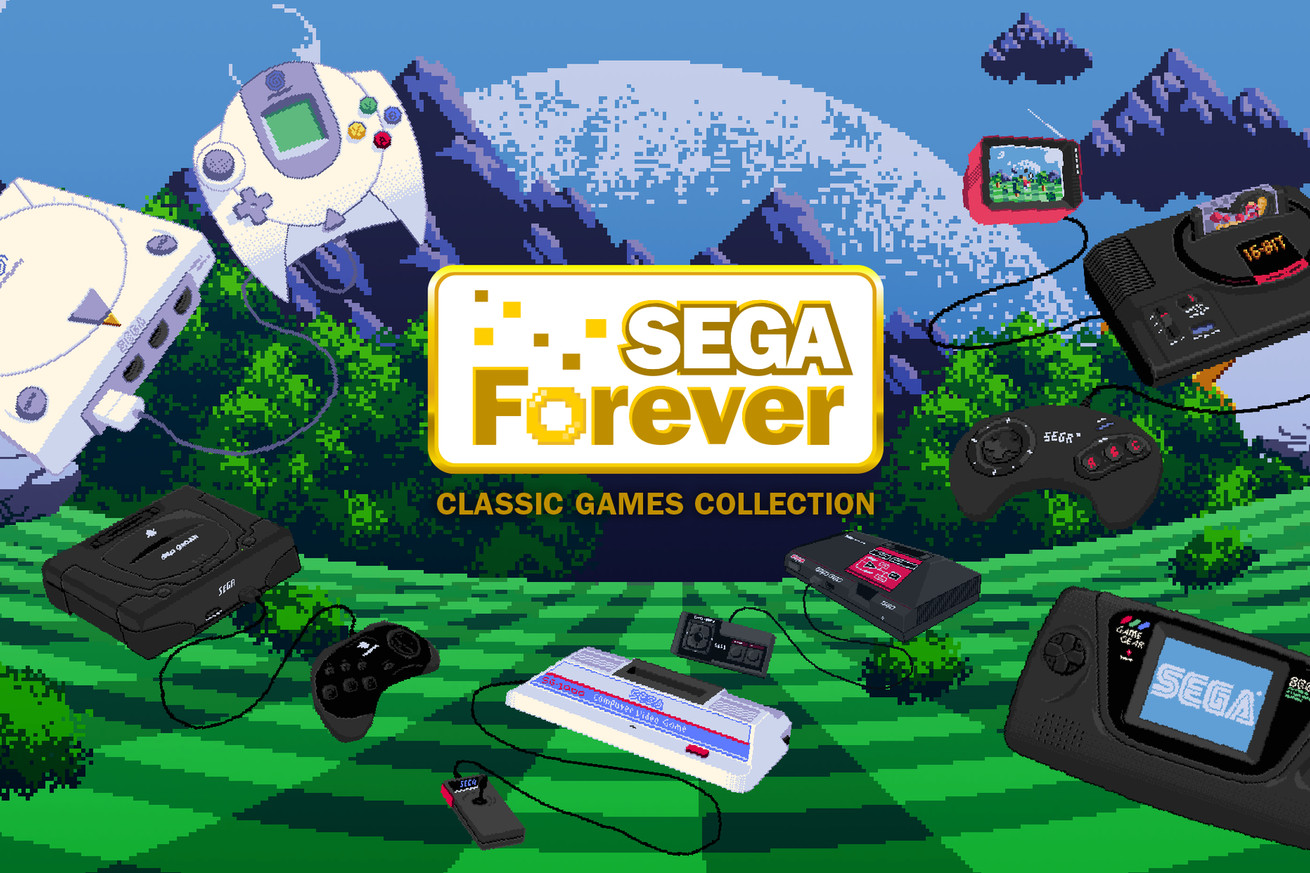 sega wants to turn its classic catalogue into the netflix of retro gaming