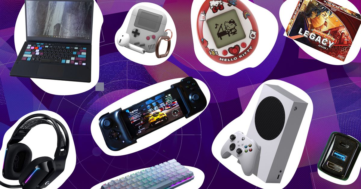 The Verge gaming holiday gift guide 2020