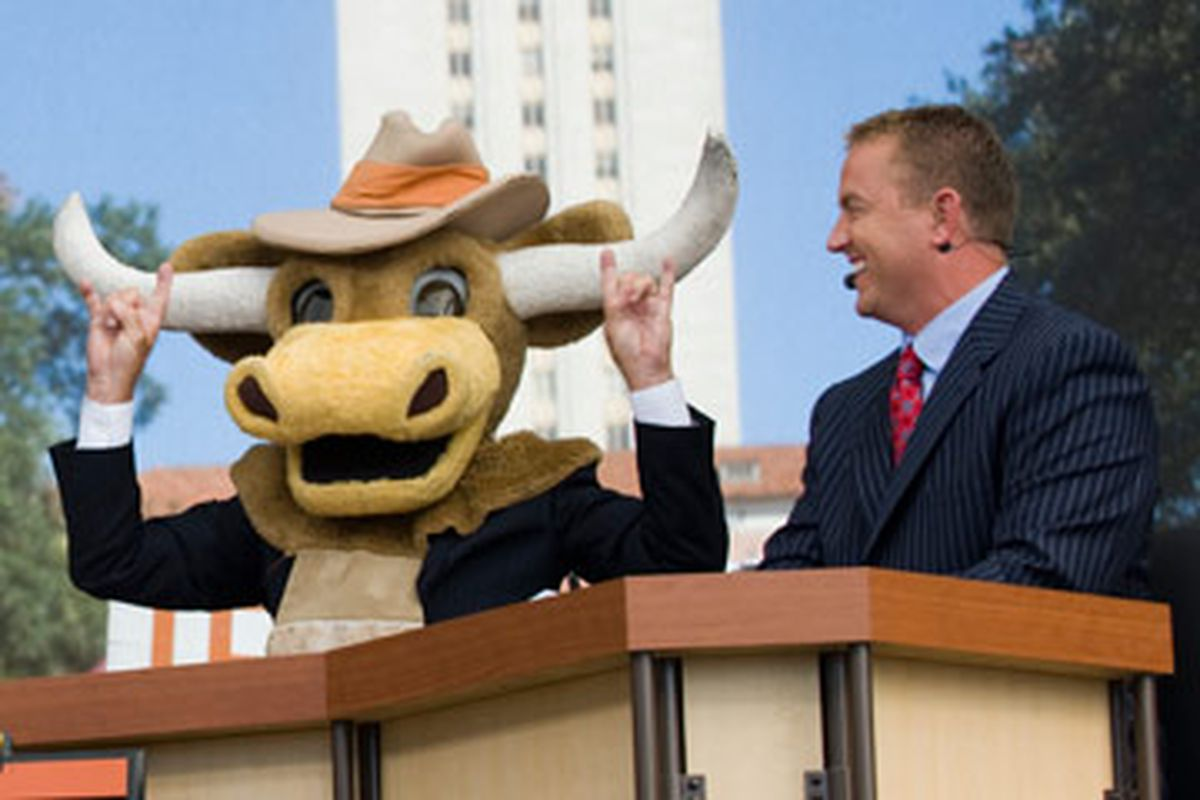 ESPN GameDay at launch of Longhorn Network