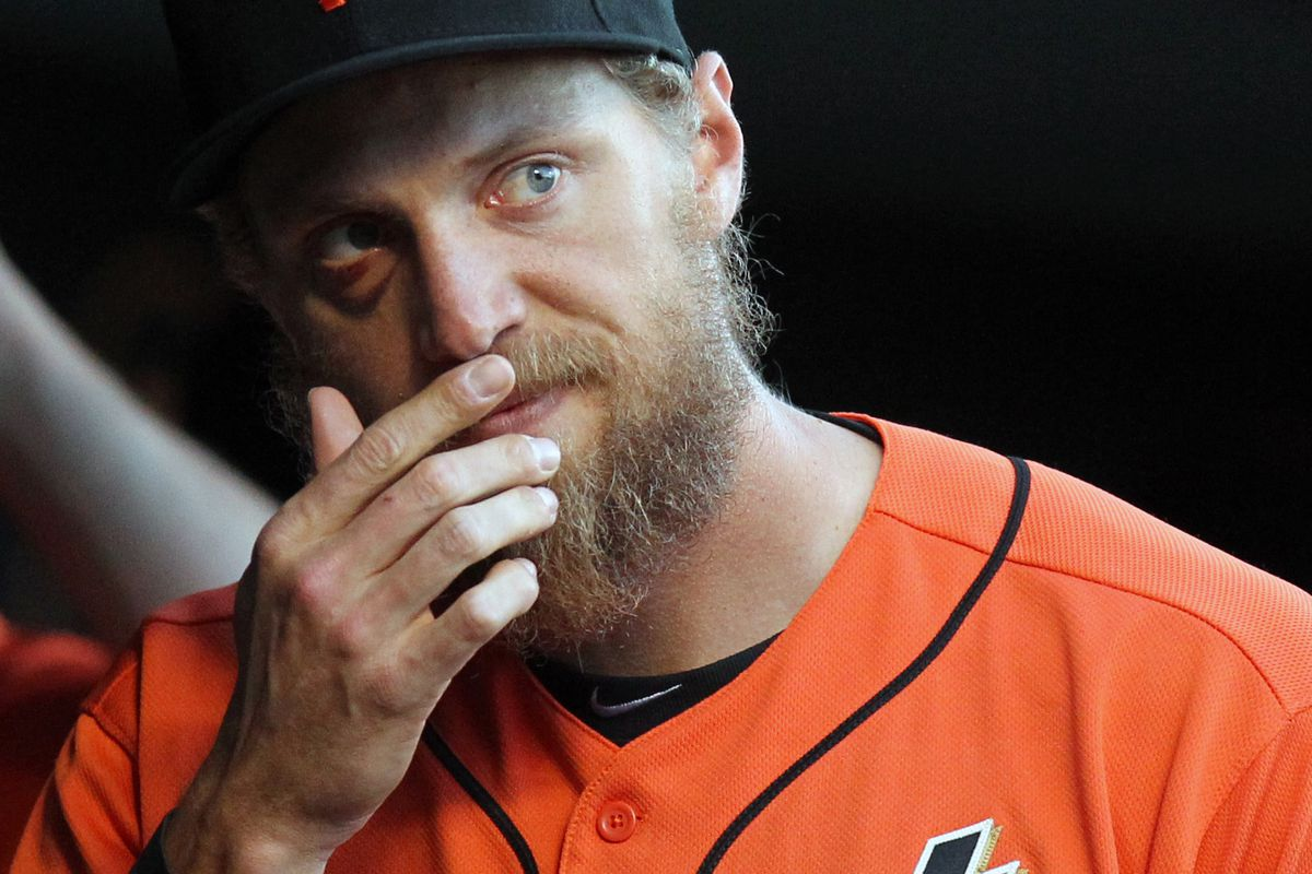"""""""I've seen some things, man. Like Zach Britton's slider."""""""