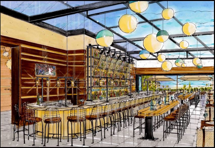 Rendering of Legal Sea Foods Chestnut Hill (relocation from 43 Boylston St. to 55 Boylston St.)