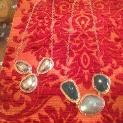 Jemma Sands precious stone necklaces, $714