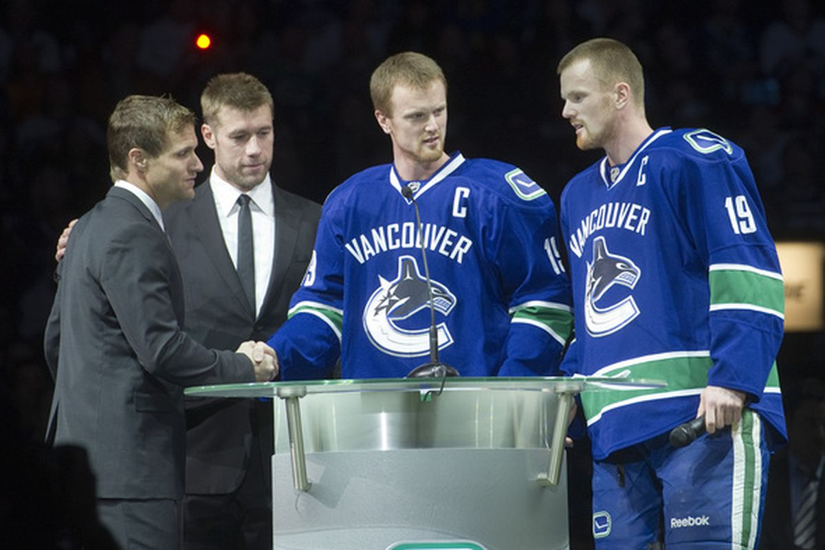 These 4 Swedes play/played a combined 43 years for Vancouver
