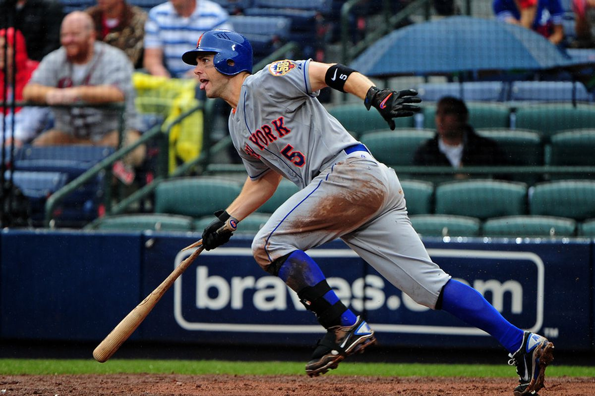 David Wright and the New York Mets host the San Francisco Giants this weekend. (Photo by Scott Cunningham/Getty Images)
