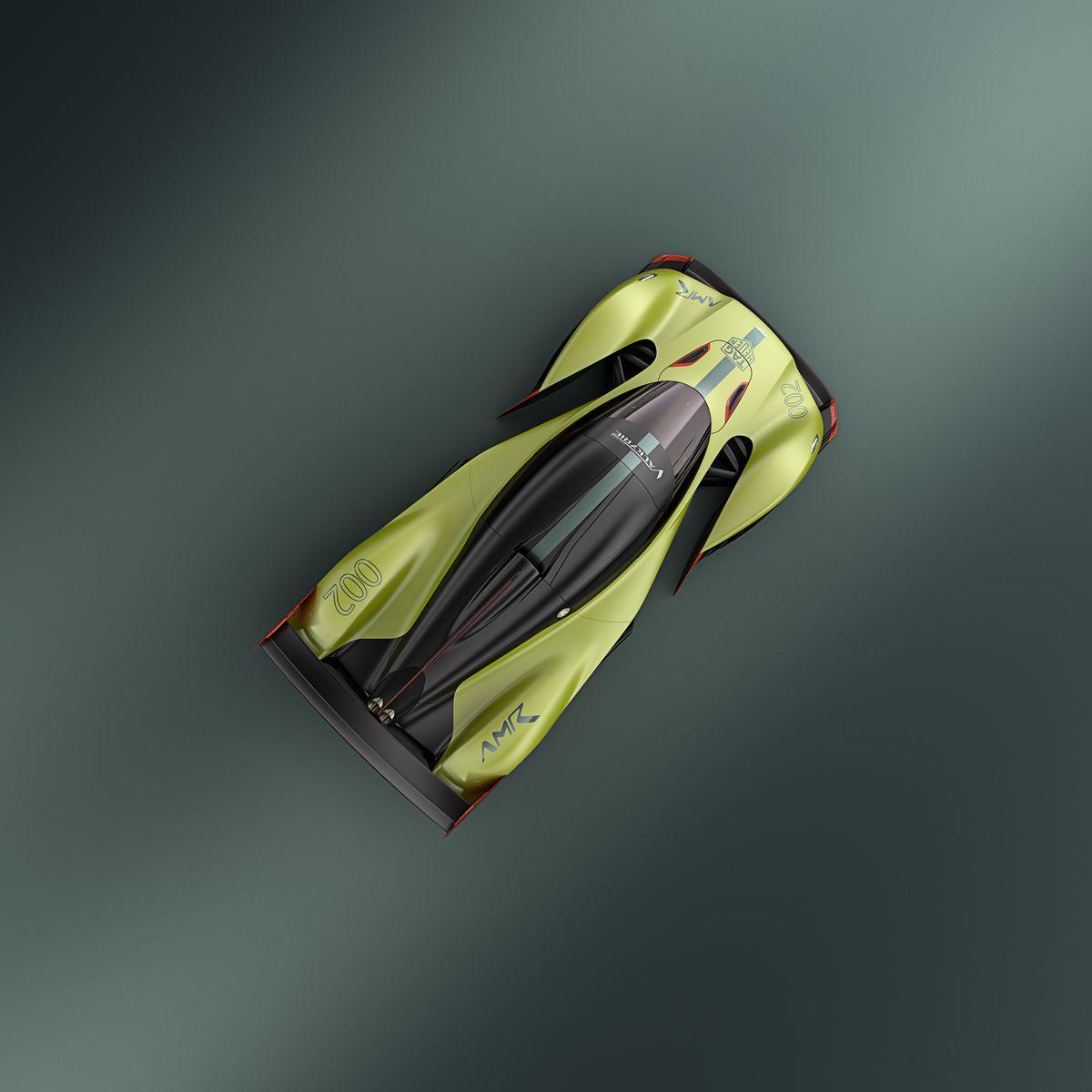 Aston Martin Valkyrie Rear: Aston Martin's New Hypercar Is An 1,100 Horsepower Asphalt