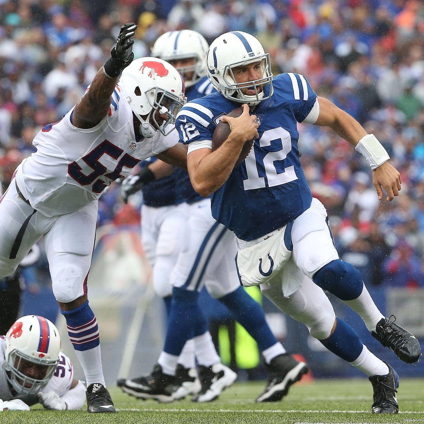 Indianapolis Colts Vs Buffalo Bills 2018 Week 7 Game Hub Stampede Blue
