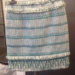 Tweed skirt, $85