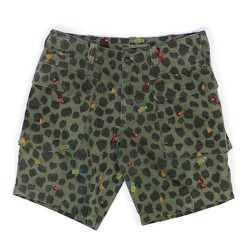 """<strong>Burkman Brothers</strong> Embroidered Cargo Shorts in Olive Mulit, <a href=""""http://www.barneys.com/on/demandware.store/Sites-BNY-Site/default/Product-Show?pid=503342163&cgid=mens-shorts&index=5"""">$180</a> at Barney's"""