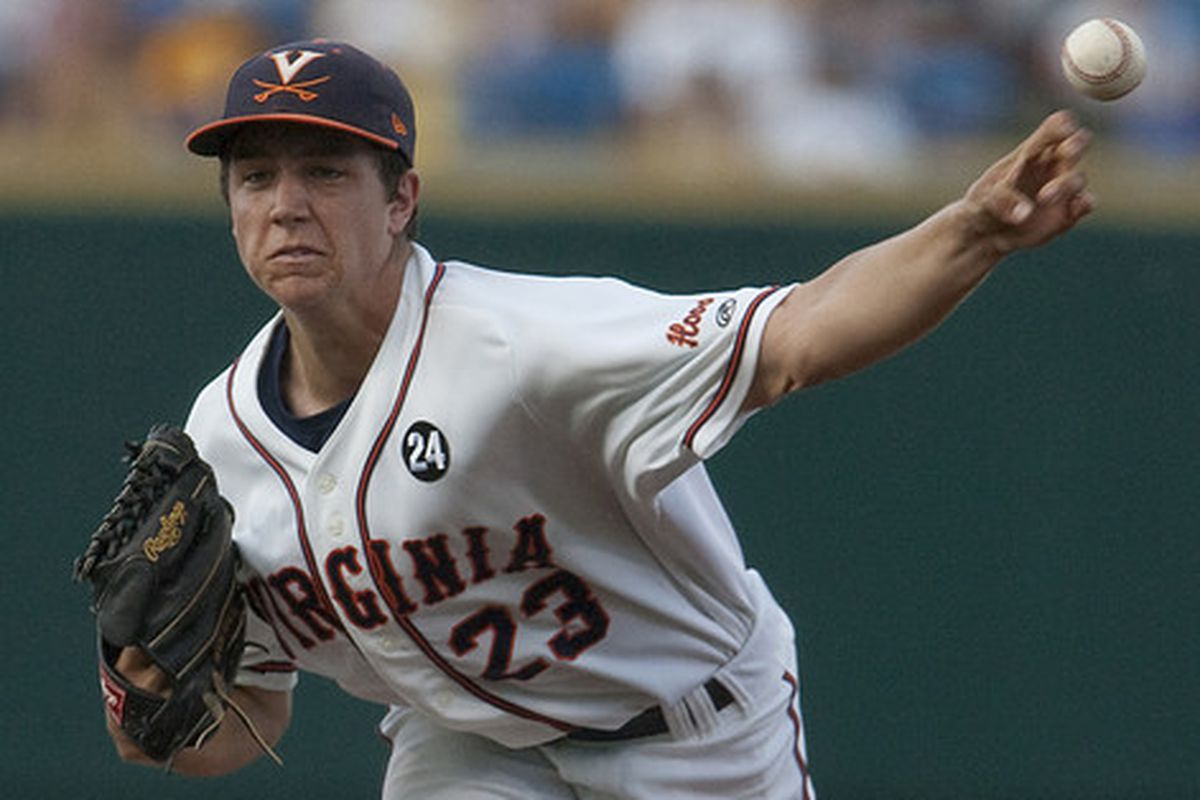 Virginia Sophomore Danny Hultzen is one of the very best pitchers in the nation this year.