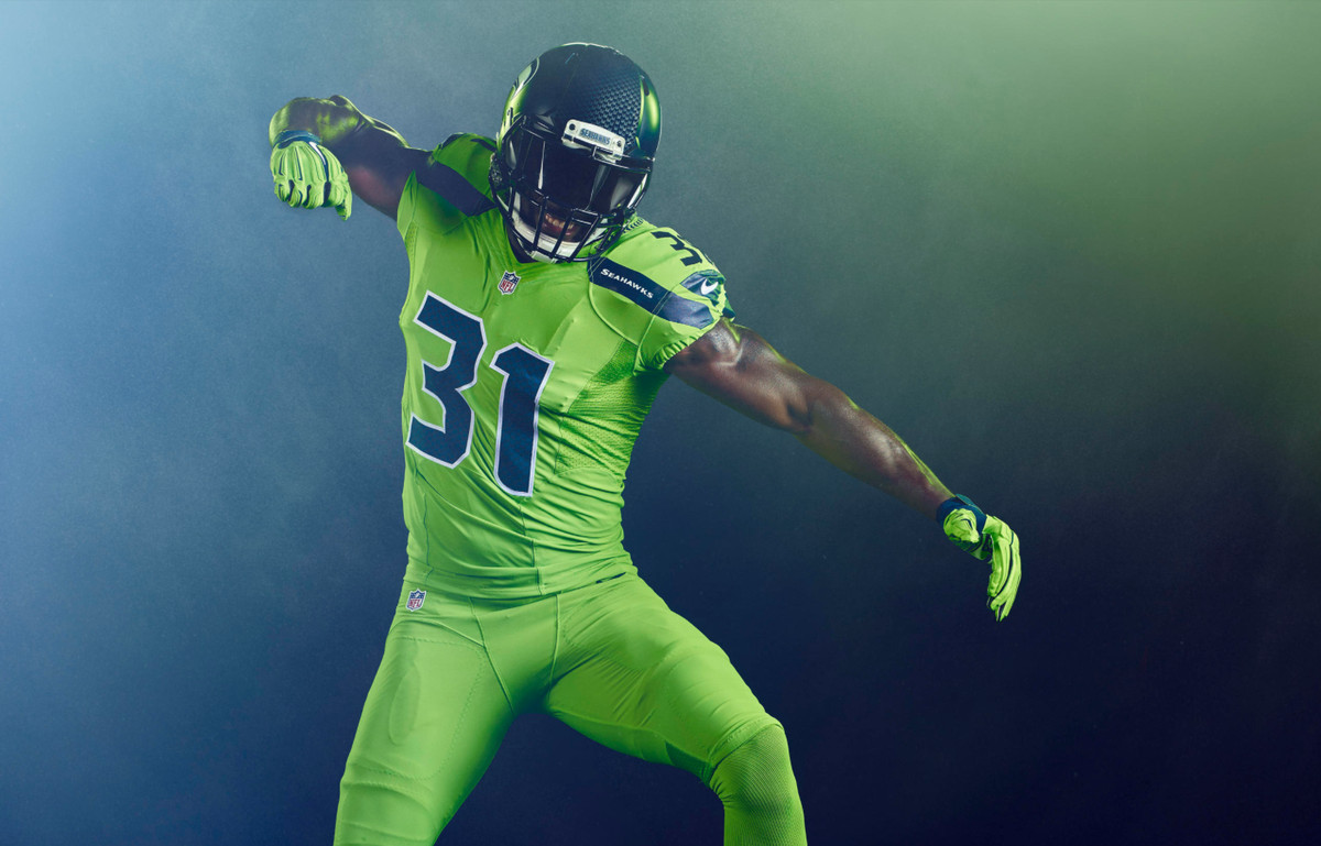 "a569b6fb24d Safety Kam Chancellor is a fan of the uniforms. ""Overall, it's a real  bright color, but I like it,"" Chancellor said in September."