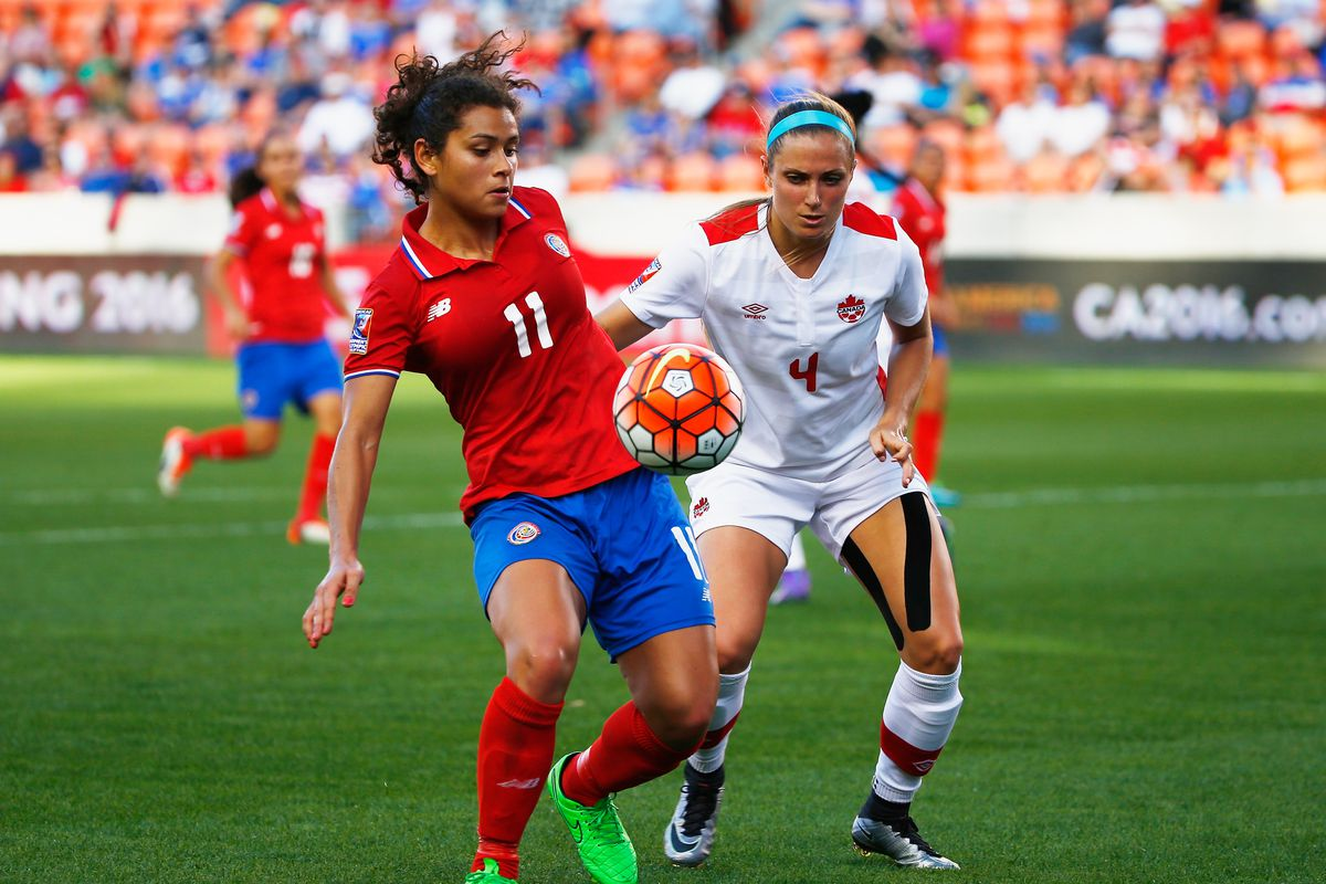 Canada v Costa Rica: Semifinal - 2016 CONCACAF Women's Olympic Qualifying
