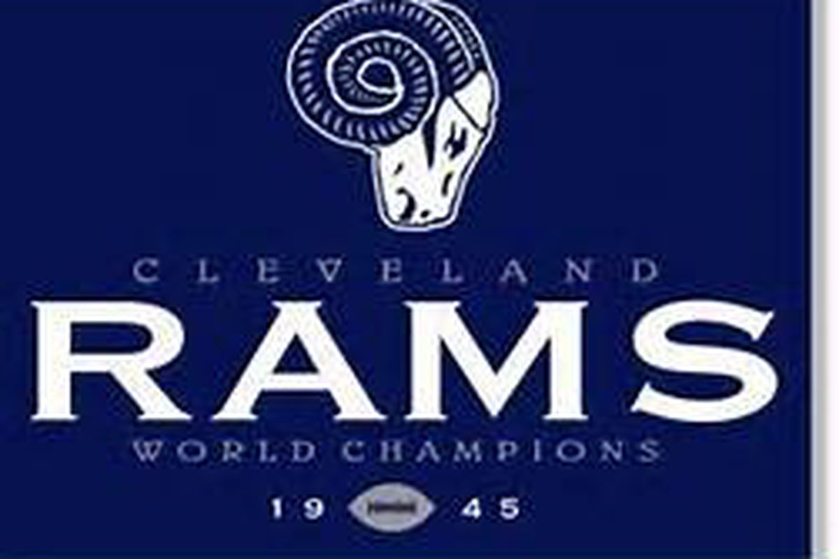 the cleveland rams head west big blue view