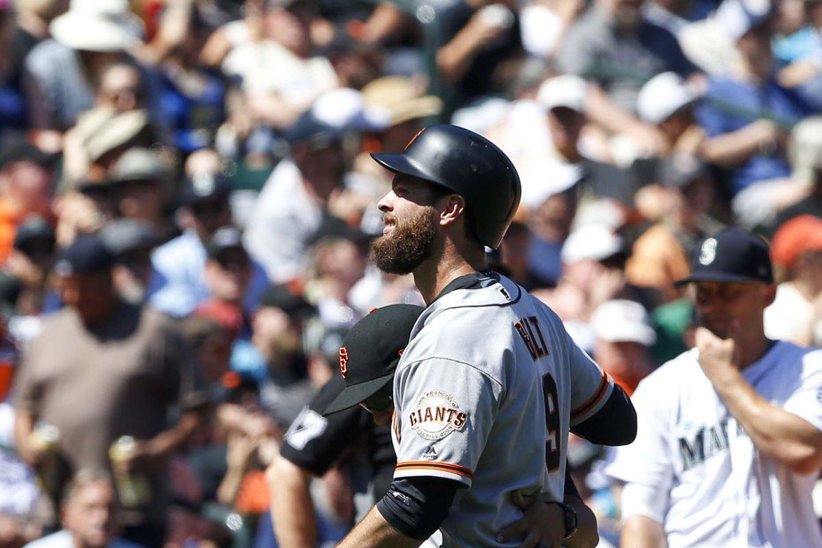 MLB: San Francisco Giants at Seattle Mariners
