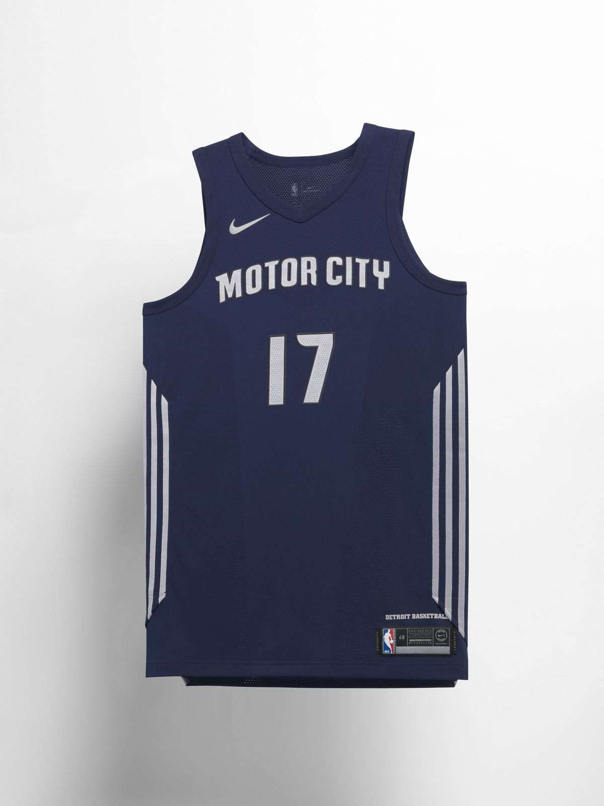 outlet store b4c9c 5c48c Detroit Pistons unveil new Motor City jerseys as part of ...