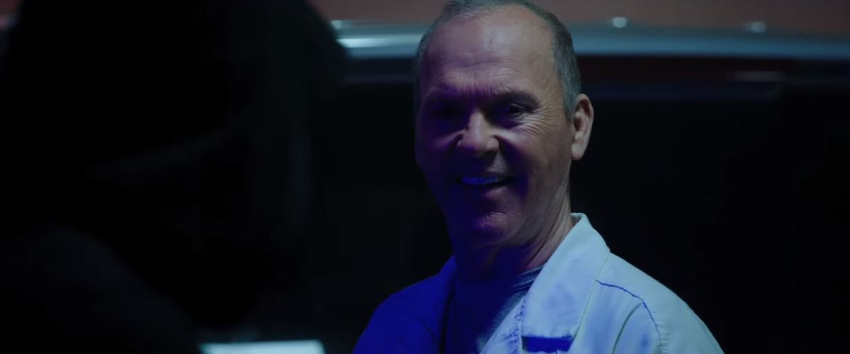 Michael Keaton in Morbius, probably playing Spider-Man villain Adrian Toomes, AKA the Vulture