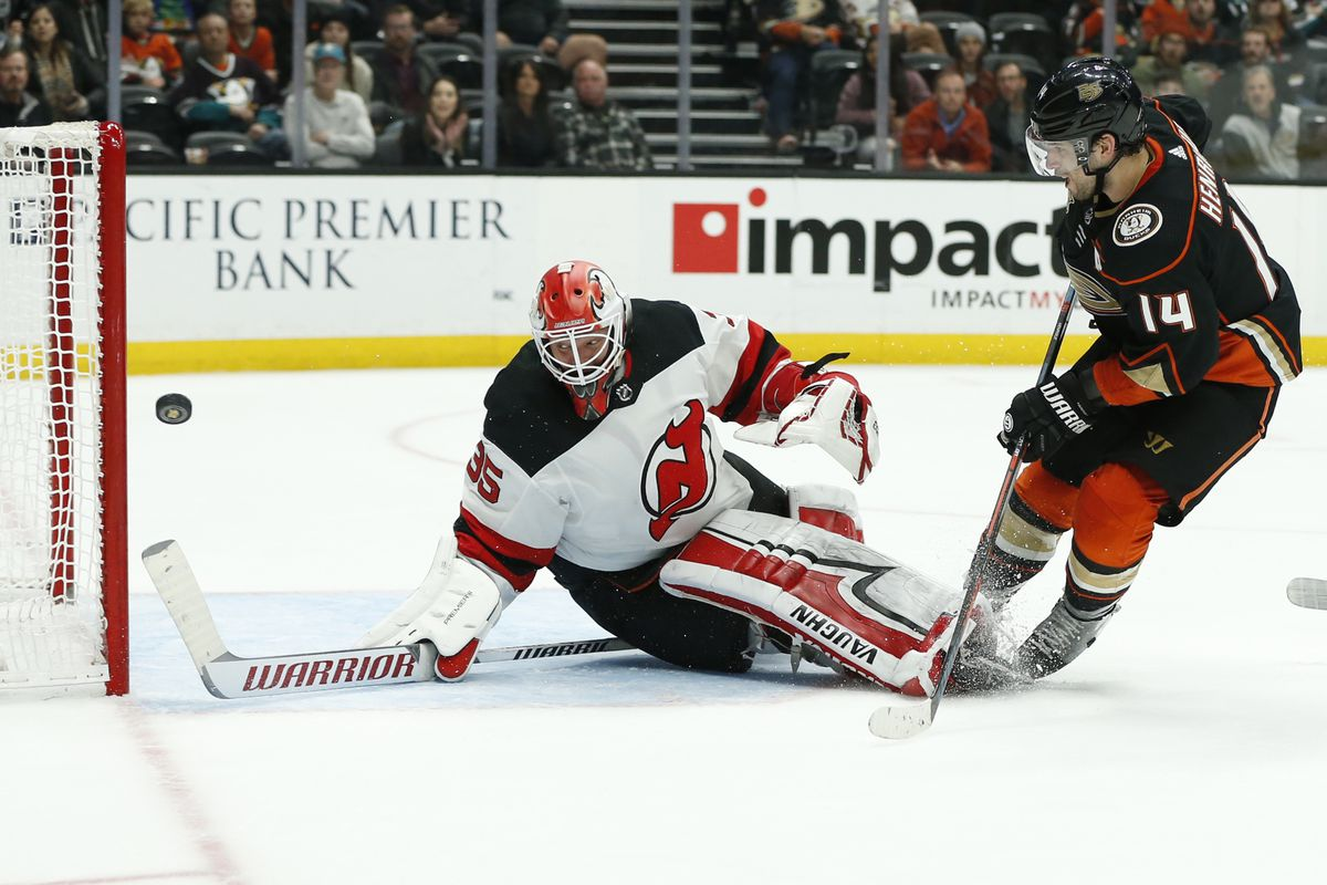 c723a08cf 3 Own Goals & A Shootout Loss: New Jersey Devils Found New Ways to Fail in  Loss to Anaheim Ducks