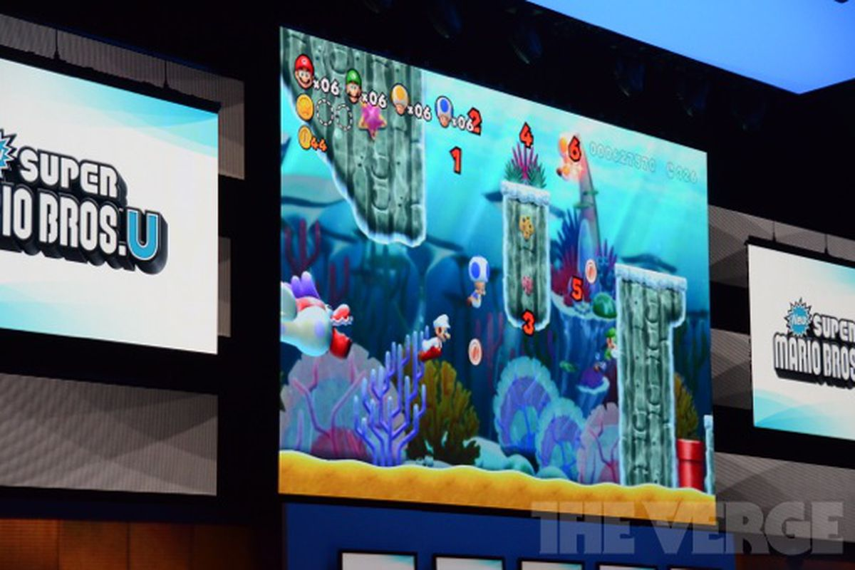 New Super Mario Bros  U features flying raccoon suit, 5